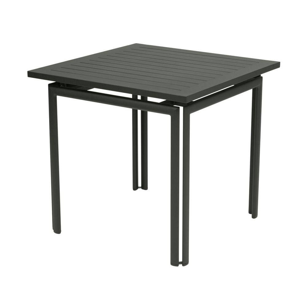Fermob costa table 80 x 80 cm for Table 80 x 80