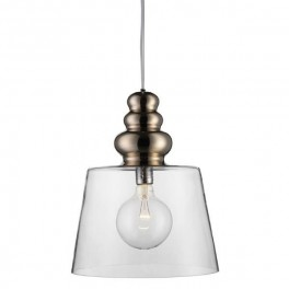 POLLISH LAMPE, XL KLAR GLAS, DESIGN BY US