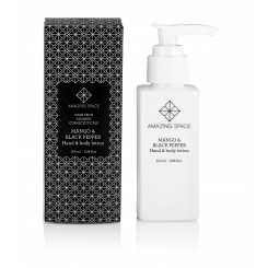 MANGO & BLACK PEPPER, HAND & BODY LOTION, AMAZING SPACE