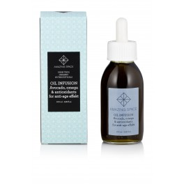 OIL INFUSION AVOCADO, OMEGA & ANTIOXIDANTS FOR ANTI-AGE EFFECT, AMAZING SPACE