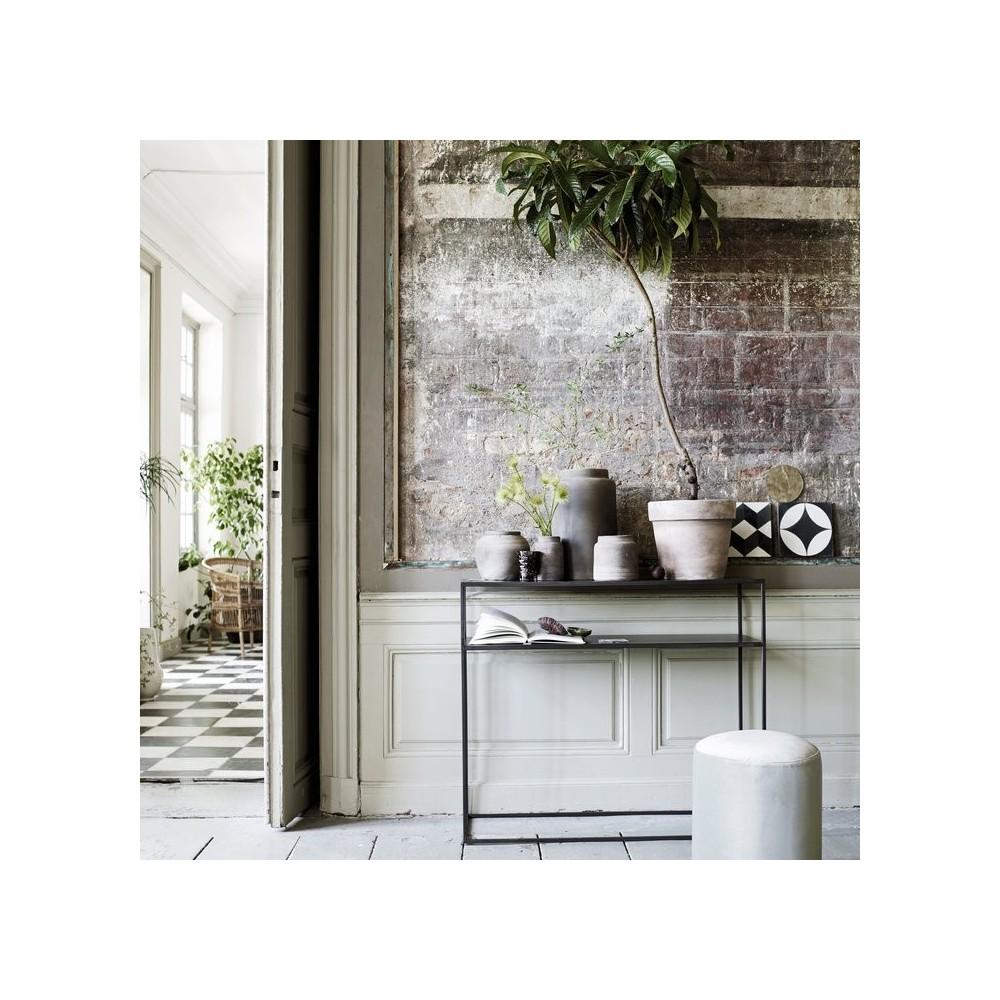 metal konsol bord med hylde tine k home. Black Bedroom Furniture Sets. Home Design Ideas