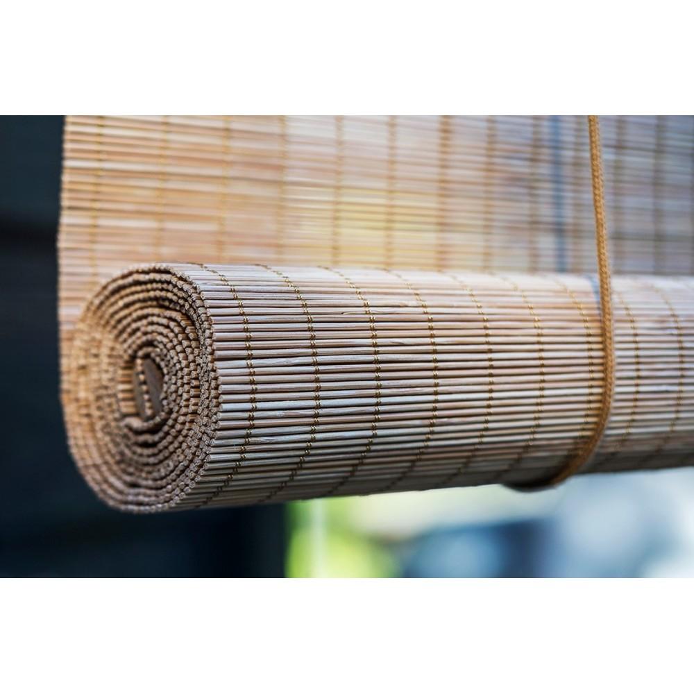 bambus rullegardin bilka BRUN FIN BAMBUS RULLEGRDIN, COLOR OG CO FORHANDLER, VI LEVERER  bambus rullegardin bilka