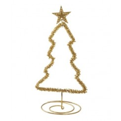 GOLD CHRISTMAS TREE, WALTHER & CO
