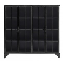 DOWNTOWN IRON CABINET, BLACK, NORDAL