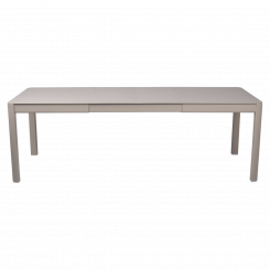 RIBAMBELLE, TABLE, 2 EXTENSION, FERMOB