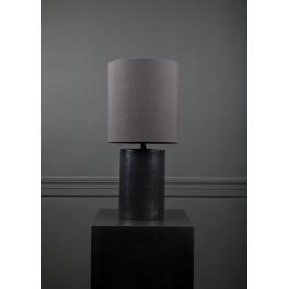 TABLE LAMP, ROUND MATTE BLACK, NOCTURNALS