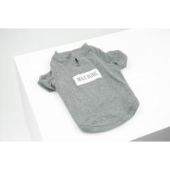 T-SHIRT GREY, MAX-BONE