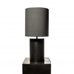 TABLE LAMP, ROUND MATTE BLACK, NOCTURNALS