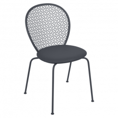 PADDED LORETTE CHAIR, FERMOB