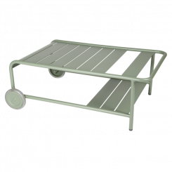 LUXEMBOURG LOW TABLE WITH CASTERS, FERMOB