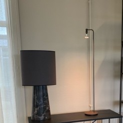 CHAPLIN SPOT FLOOR LAMP, BRONCE 110 CM