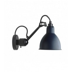 LAMPE GRAS, NO 304, WALL LAMP, BLACK SATIN